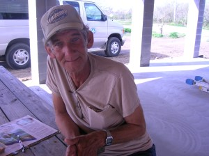 Mr. Bob.  His MDS house will be finished next week!